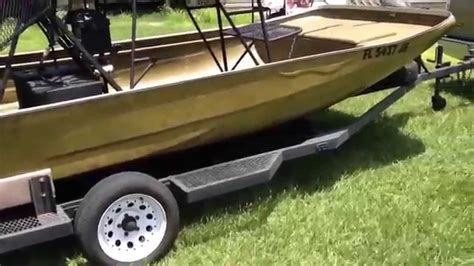 airboats for sale my airboat for sale and or trade youtube