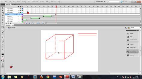 cara mengubah pket youtmax ke flash di aplikasi anonitun cara membuat kubus dari aplikasi adobe flash professional