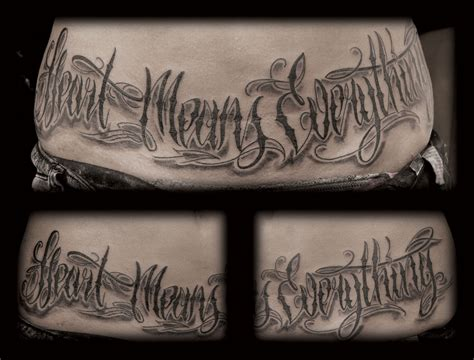gangster lettering tattoo designs letters gangster quotes quotesgram