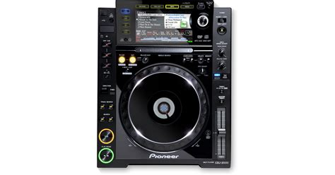 Alat Dj Pioneer Cdj 2000 Cdj 2000 Archived Pro Grade Digital Dj Deck Black