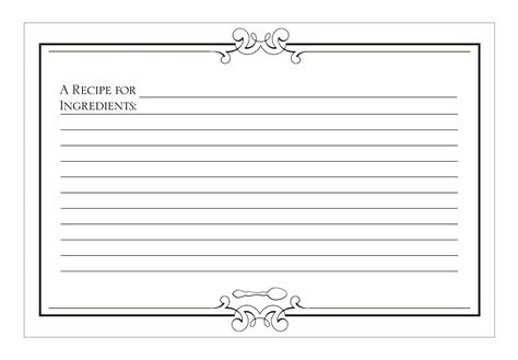 blank lined recipe card template 94 recipe cards for healthy created by