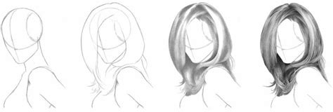 how to draw hairstyles how to draw realistic hair the ultimate tutorial
