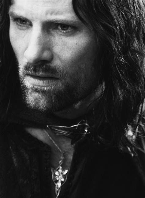 """ARAGORN - """"The hands of the king are the hands of a healer"""