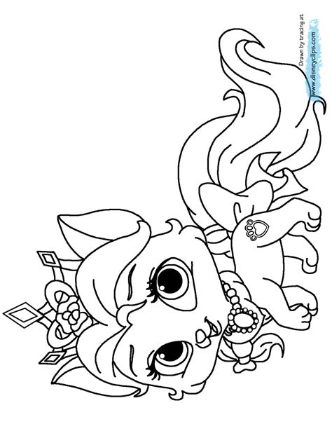 coloring pages palace pets disney palace pets printable coloring pages disney