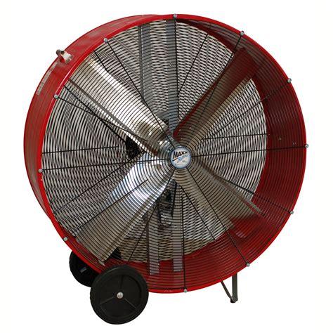 home barrel fan 48 quot belt drive barrel fan