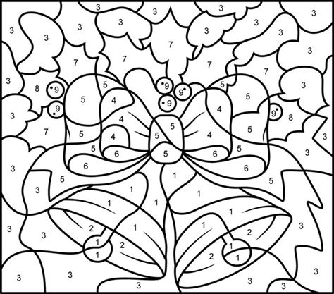 free printable color by number christmas coloring pages free printable color by number sheets az coloring pages