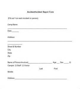 Accident Investigation Report Form Template incident report template 34 free word pdf format