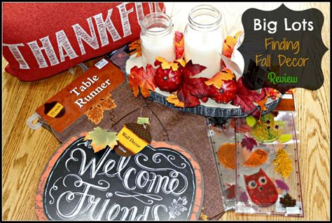 big lots decorations big lots finding fall decor for my home review emily