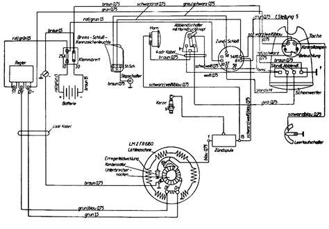 Ural Motorrad Schaltplan by проект Mz Es 250 Doppelport страница 8