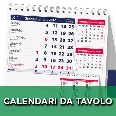 sta calendari da tavolo calendari