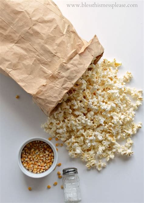 How To Make Popcorn In A Brown Paper Bag - 25 best ideas about brown bag popcorn on