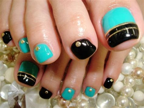 comfortable nail trend for easy cute toe nail art designs ideas 2013