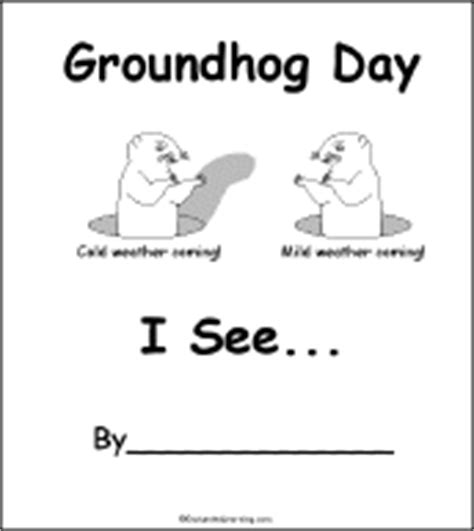 groundhog day kindergarten worksheets books to print groundhog day crafts worksheets and