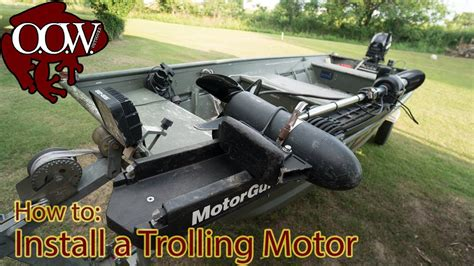 mounting a trolling motor on a jon boat how to install trolling motor jon boat no custom mounting