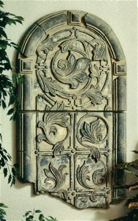 renaissance roman arch wall niche medium wall sculpture corinthian gate sculptural wall frieze