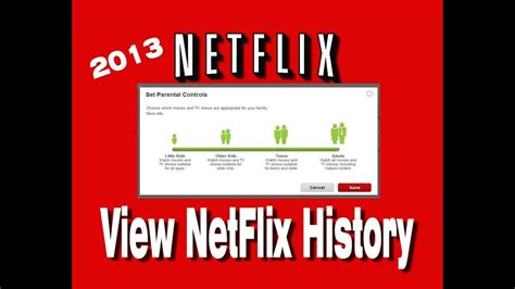 view  netflix history   approach  netflix parental controls youtube