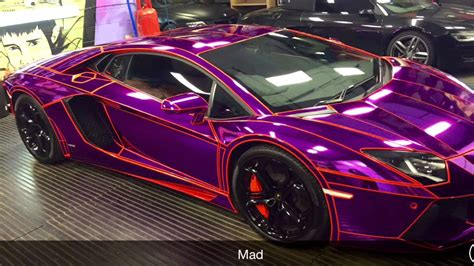 ksi s wrapped car aventador