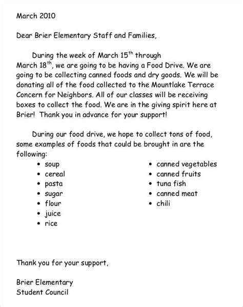 donation request letter template for food donation letter template 26 free word pdf documents