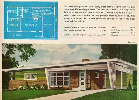 atomic ranch house plans 20 best carport images on pinterest mid century house