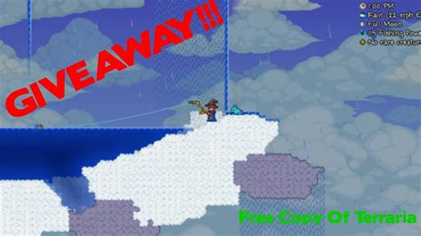 Terraria Free Giveaway - free giveaway free copy of terraria canceled youtube