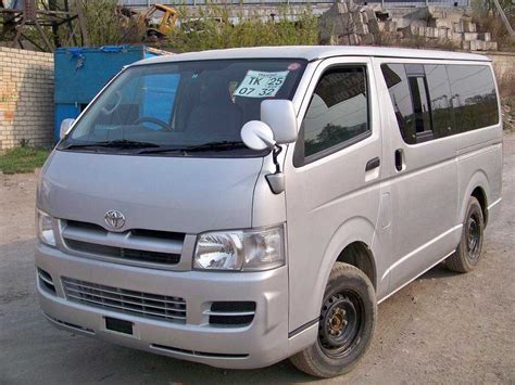 Toyota Hiace For Sale 2005 Toyota Hiace For Sale 2500cc Diesel Manual For Sale