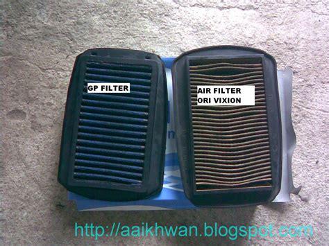 Air Filter Vixion membersihkan filter udara vixion aa ikhwan