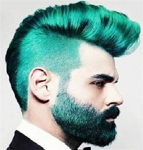 Hairstyles Crazy Color | 10 crazy men s hairstyles mens hairstyles 2018