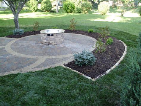 circular paver patio circular paver patio patio minneapolis di barrett