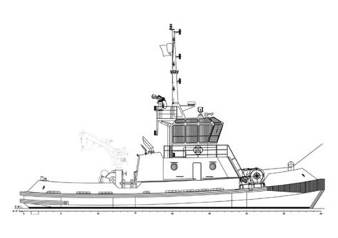 tugboat hull design tugboat hull design photo by paul kinnaly an excellent