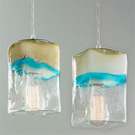 aqua pendant lights sand and turquoise square pendant light shades of light