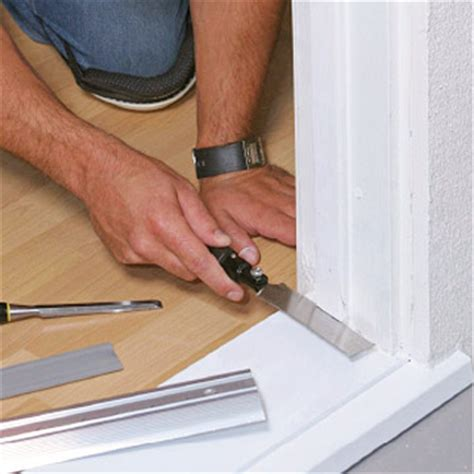 How To Replace A Metal Threshold On An Exterior Door How To Replace A Metal Threshold On An Exterior Door Replace Exterior Door Threshold Interior