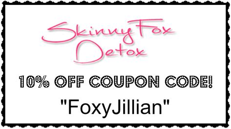 Fox Detox Discount Code by Makeup Excellence Fox Detox