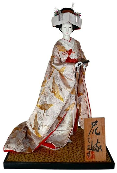 japanese wedding dolls japanese traditional dolls japanese vintage doll in