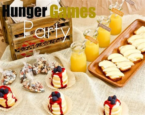 good hunger games themes hunger games party ideas favething com
