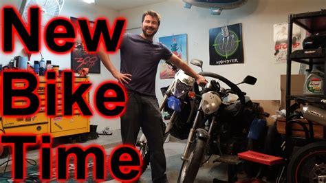 Jake The Garden Snake Yamaha New Bike