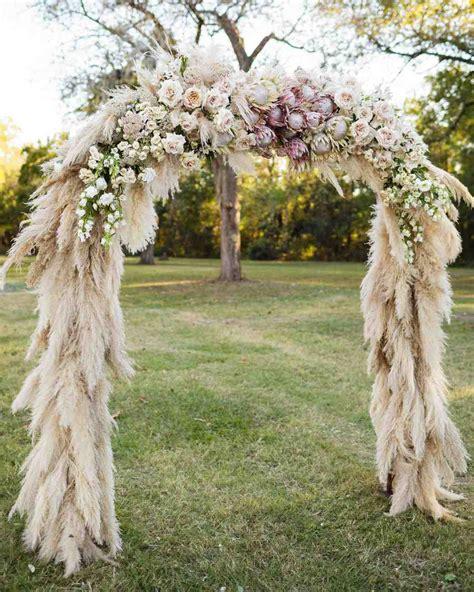 Wedding Arch Is Called by A Luxe Bohemian Wedding In Martha Stewart Weddings