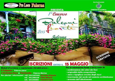concorso balconi fioriti pro loco falerna indice primo concorso balconi fioriti
