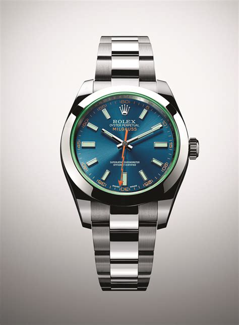 Ultimate Replica Rolex Milgauss Blue Electric baselworld 2014 introducing the rolex milgauss with an