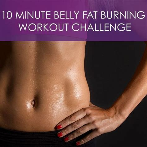 burn fats in your abs 10 minute belly fat burning workout challenge squat