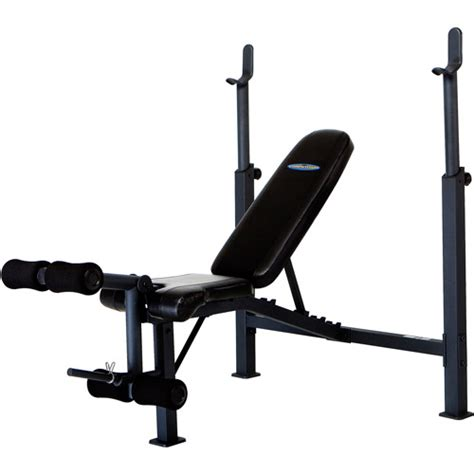 olympic bench with weights competitor olympic weight bench cb 729 walmart com