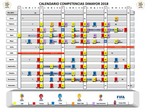 Calendario Liga Aguila Calendario F 250 Tbol Colombiano 2018 Liga 193 Guila Copa