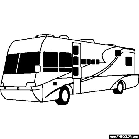 sketches from the rv years books terra wind rv coloring page