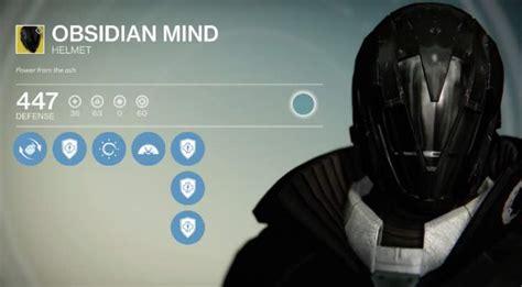 destiny obsidian mind review  nova bomb heaven