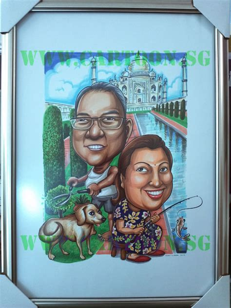 Cartoon.SG ? Singapore Caricature Artists for Gifts