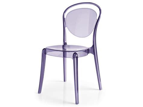 sedia calligaris parisienne stackable polycarbonate chair parisienne by calligaris