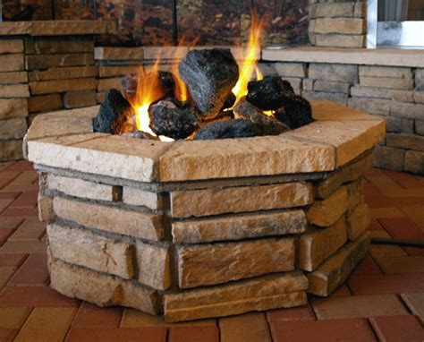 Firepitoutfitter Com Outdoor Gas Fire Pit Parts Burner Lava Rock For Pit
