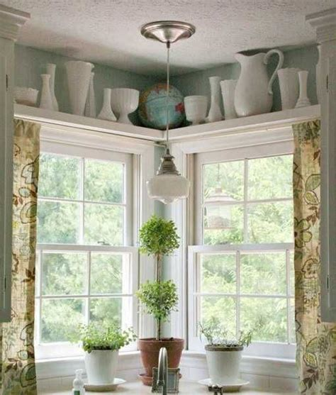Corner Windows Decor Best 25 High Shelf Decorating Ideas On Pinterest Shelves For Kitchen Kitchen Cupboard