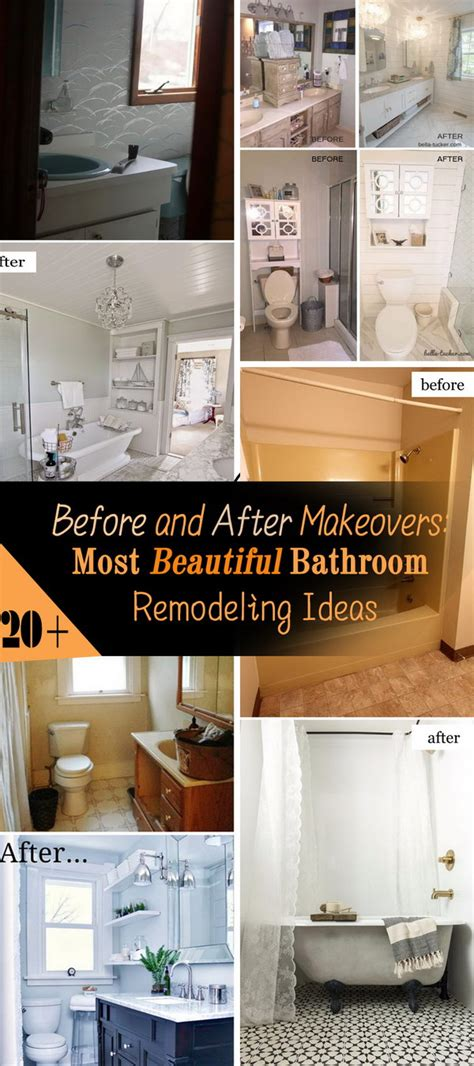 before and after makeovers 20 most beautiful bathroom remodeling ideas noted list bathroom remodel ideas pictures amazing natural home design