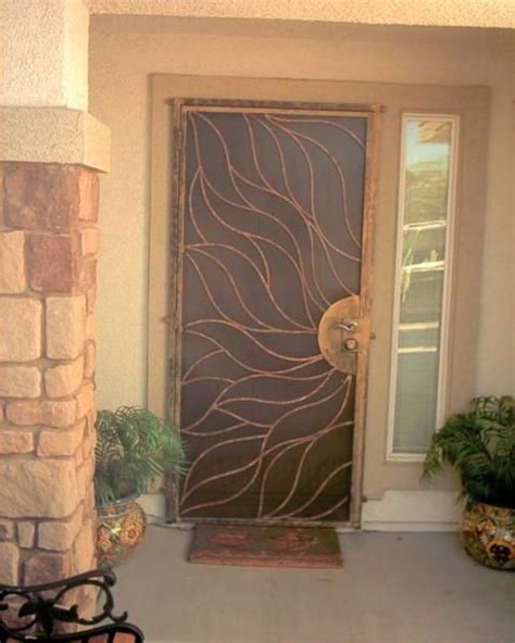 Would Love Custom Security Doors Like This Crafts Securing Front Door