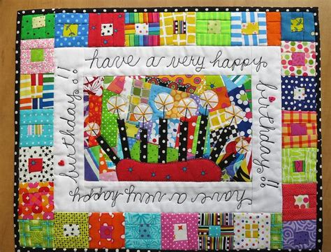 Birthday Quilt Pattern by Happy Birthday Placemat Quilts